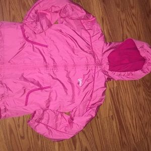 Oshkosh girls size 8 lined zip up